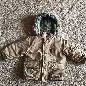 OshKosh B'gosh Hunter Green Thick Winter Jacket